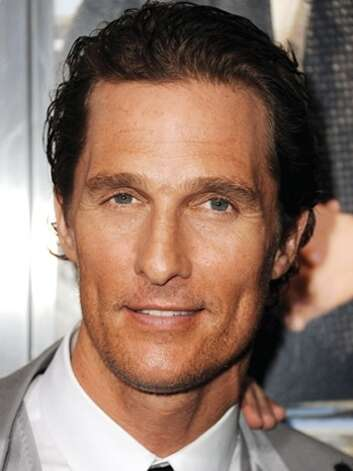 Matthew McConaughey -- this year he started getting taken seriously.