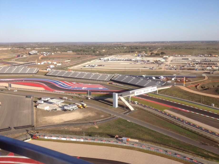 The Circuit of Americas race track in Austin. (Photo: Dan X. McGraw, Houston Chronicle)