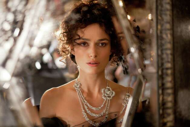 "FILE - This film publicity image released by Focus Features shows Keira Knightley in a scene from ""Anna Karenina."" (AP Photo/Focus Features, Laurie Sparham, File) Photo: Laurie Sparham"