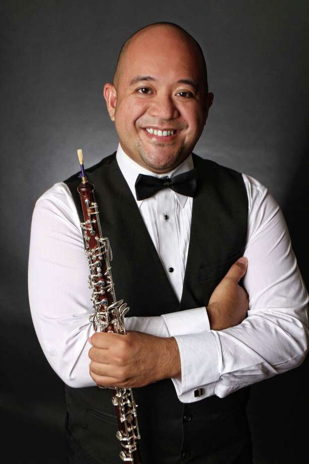 Oboist Brian Briones is the featured soloist on the Texas Medical Center Orchestra's program Sunday. Photo: Courtesy Brian Briones / AGARD Photography