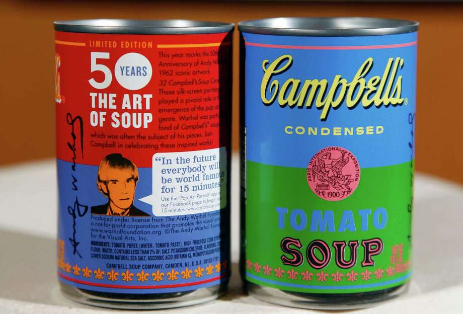 Campbell's Soup is iconic, and it's from New Jersey. Photo: Mel Evans, STF / Mel Evans