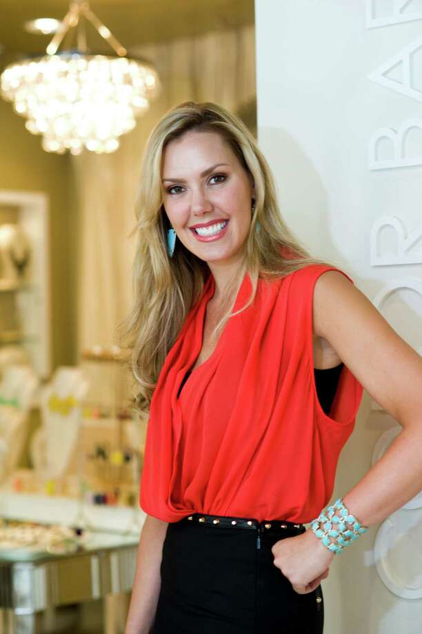 Kendra Scott is an Austin-based jewelry designer who is gaining a national and international following. She and her Austin headquarters were shot on June 15, 2012, for the first edition of the new Style section. ***Note: These photos are for the Style section. Please do not use these photos without checking with Kristin Finan in features. Photo: Sasha Haagensen / Sasha Haagensen Photography 2012