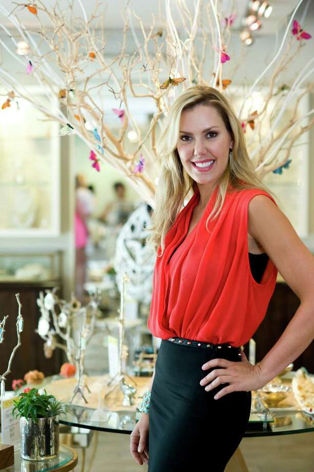 Kendra Scott is an Austin-based jewelry designer who is gaining a national and international following. She and her Austin headquarters were shot on June 15, 2012, for the first edition of the new Style section. Photo: Sasha Haagensen / Sasha Haagensen Photography 2012