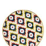 Under $20: A plate so snazzy it'll make your basic chicken look like a catered affair. Dinner plate, $14; cwonder.com.