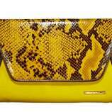 Under $50: No snakes were harmed in the making of this faux-slithery clutch... and your bank account got off easy too. Iman Global Chic clutch, $29.95; hsn.com.