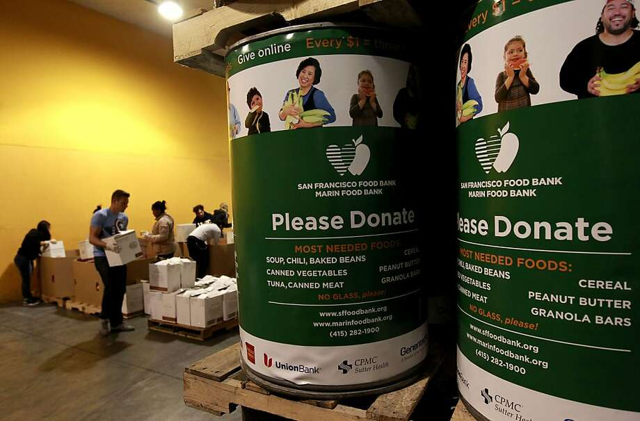 The S.F. Food Bank is appealing for more turkeys to meet the need after a big weekend response. Photo: Michael Macor, The Chronicle