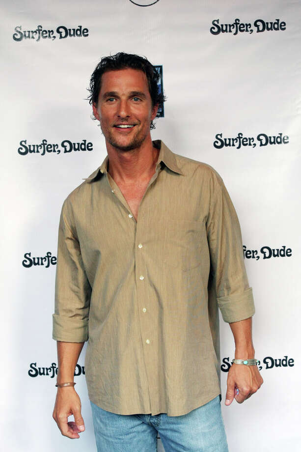 "A much healthier-looking McConaughey attends the world premiere of ""Surfer, Dude"" in Austin in September 2008.  Photo: Jack Plunkett, AP / FR59553 AP"