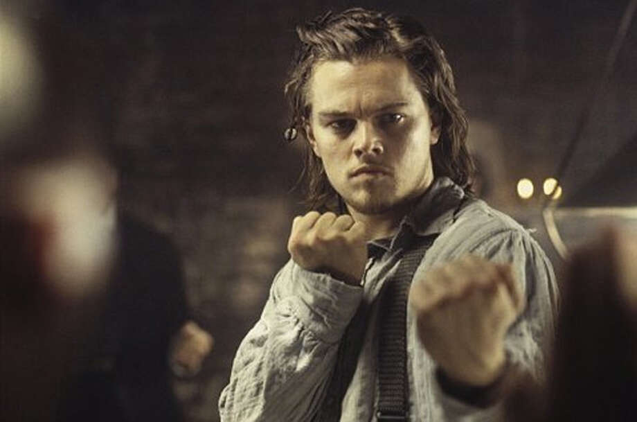 """""""Gangs of New York"""" also starred Leonardo DiCaprio, beginning a long relationship between Scorsese and DiCaprio.  Photo: Miramax"""