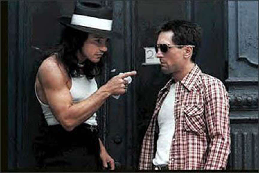 Harvey Keitel (left) with Robert De Niro in