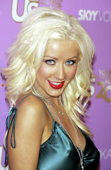 The raunchy phase did not last long, however. Here's Christina Aguilera at a Hollywood event in Sept