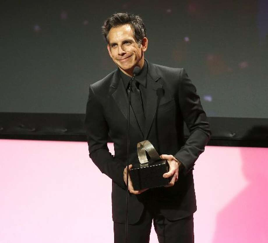 Honoree Ben Stiller accepts award onstage during the American Cinematheque 26th Annual Award Presentation To Ben Stiller 2012 at The Beverly Hilton Hotel on Thursday Nov. 15, 2012 in Beverly Hills, California. (Photo by Todd Williamson/Invision/AP Images) (AP Images)