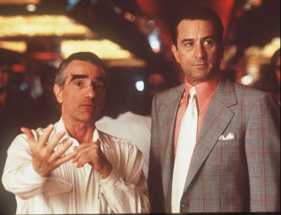 "Scorsese teamed up with De Niro again for the 1995 movie ""Casino.""  Photo: PHILLIP CARUSO, Associated Press / UNIVERSAL STUDIOS"