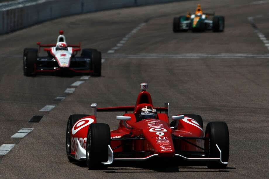 Austin will host the Formula One United States Grand Prix Sunday. Aside from NASCAR and Formula One, there are many other professional races. Scott Dixon of New Zealand, driver of the #9 Target Chip Ganassi Racing Honda Dallara, practices for the IZOD IndyCar Series Firestone 550 at Texas Motor Speedway on June 8, 2012 in Fort Worth, Texas. (Getty Images for Texas Motor Speedway)