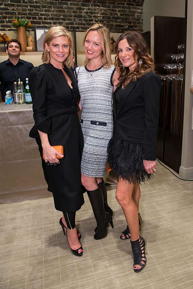 Kimberly Miller, Lisa Oberwager and Claudia Ross at the Wilkes Bashford party Nov. 15. Photo: Drew Altizer Photography