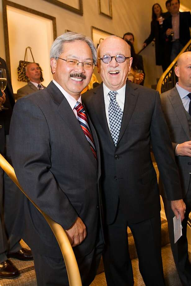 Mayor Ed Lee and Wilkes Bashford. Photo: Drew Altizer Photography, Laura Morton For Drew Altizer Ph