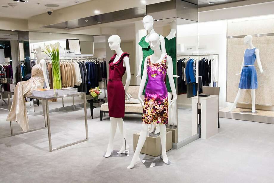 The remodel of the Wilkes Bashford store, which took 18 months and cost millions of dollars, featured several components including opening up long-dormant windows along Sutter Street to let more light into the store. Here, one of the floors featuring women's apparel. Photo: Drew Altizer Photography