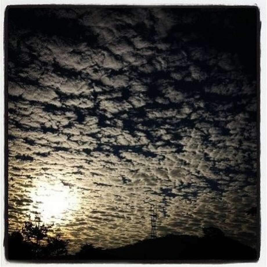 Cloudy Sunrise.  http://instagr.am/p/SDmvZLpIvs/ Photo: Paul Chinn, The Chronicle