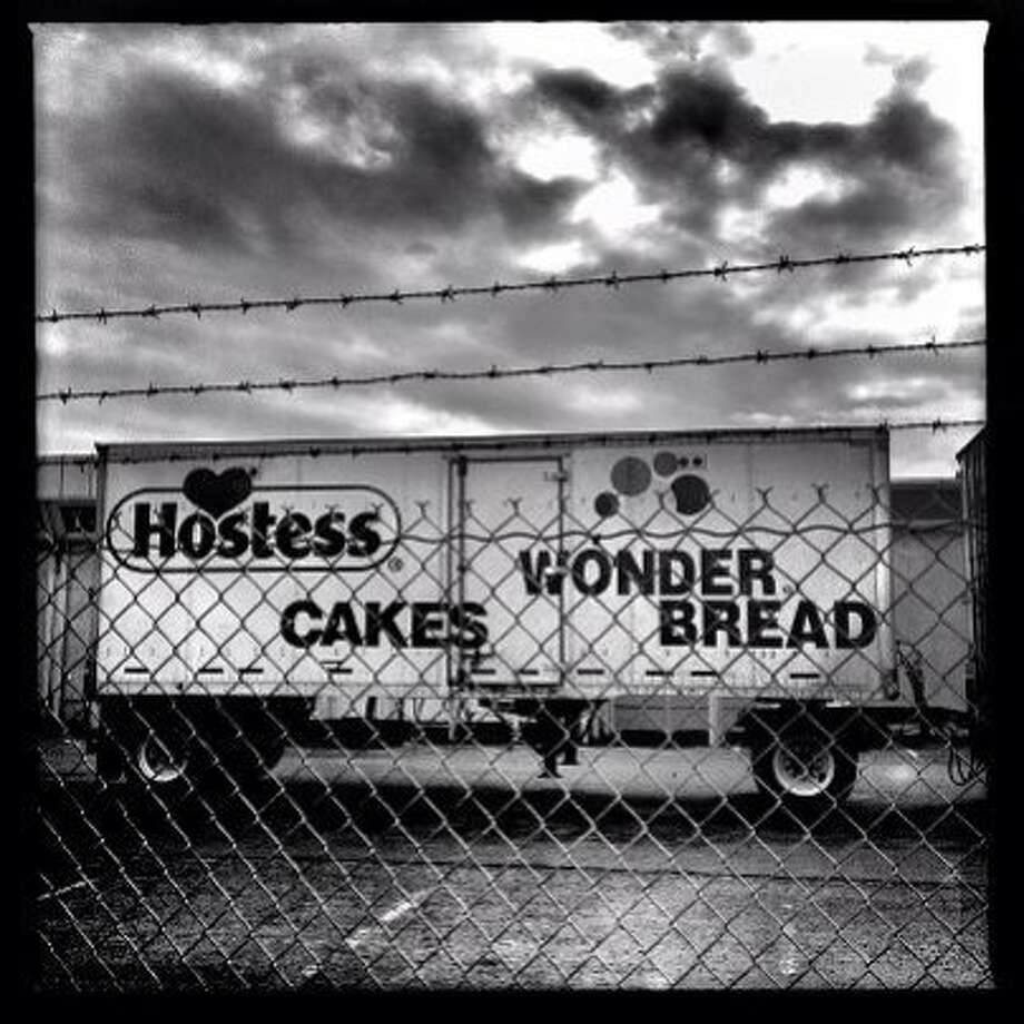 Workers strike - Hostess closes  http://instagr.am/p/SGnsmApIqJ/ Photo: Mike Kepka, The Chronicle