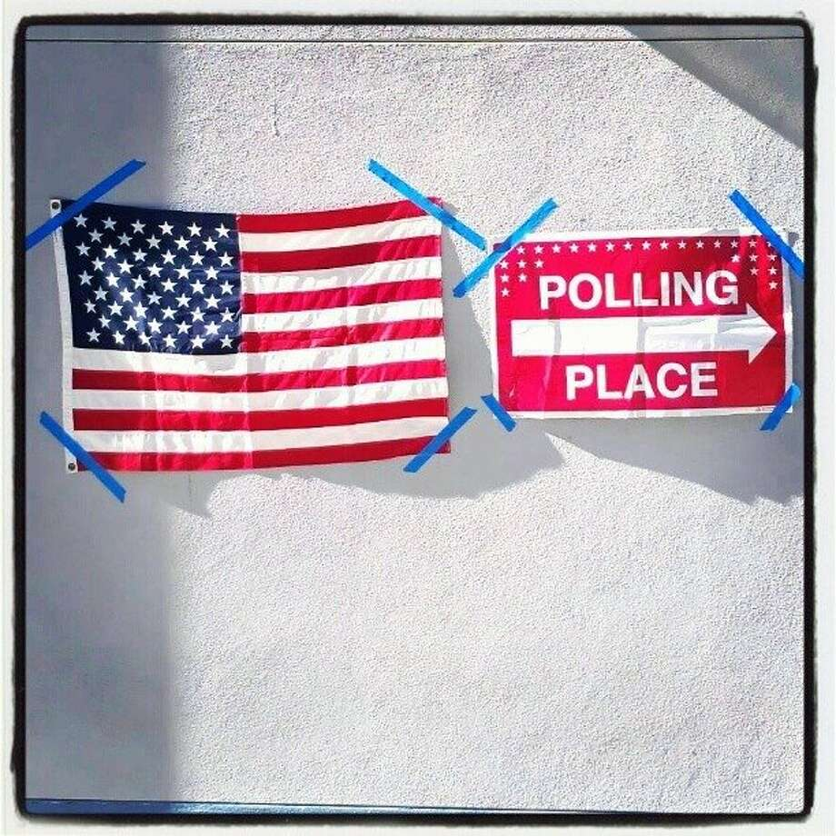Brooks Elementary School, Windsor, Calif. #sfcvote @alvinjornada http://instagr.am/p/Rs5ryhJIsS/ Photo: Alvin Jornada, Special To The Chronicle