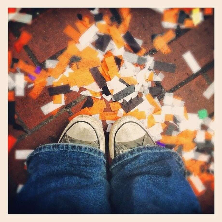 Parade Aftermath... Go Giants!!!  http://instagr.am/p/RdjFbxpIsv/ Photo: Luanne Dietz, The Chronicle