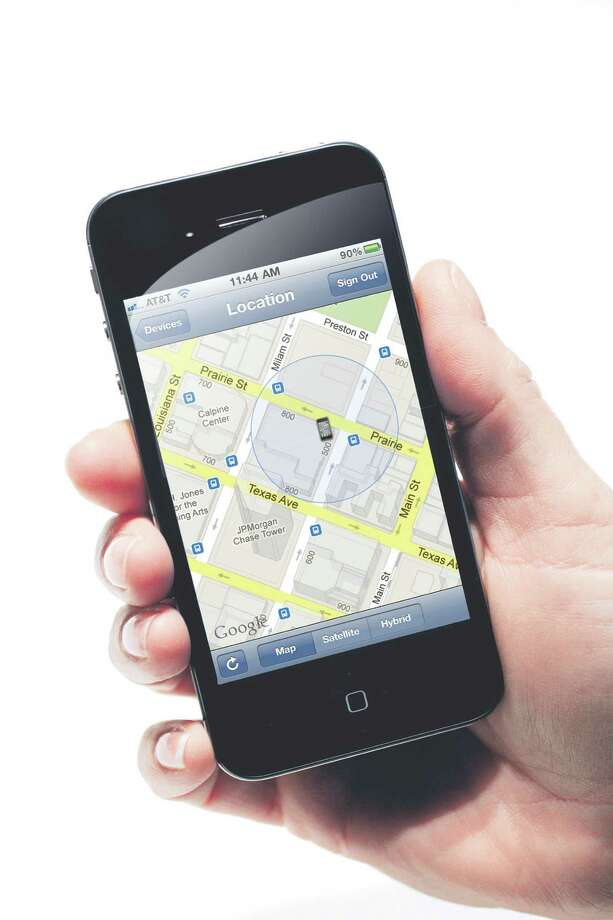 The Find My iPhone app locks and locates missing phones. Photo: File Photo / AP