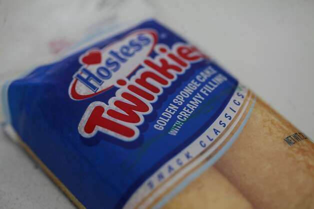One of last Hostess Twinkies is sold at the Hostess Bakery Thrift shop on Nov. 16, 2012 in San Leandro, Calif. After dealing with a labor strike, Hostess announced it would be going out of business because of financial troubles. Photo: Mike Kepka, The Chronicle
