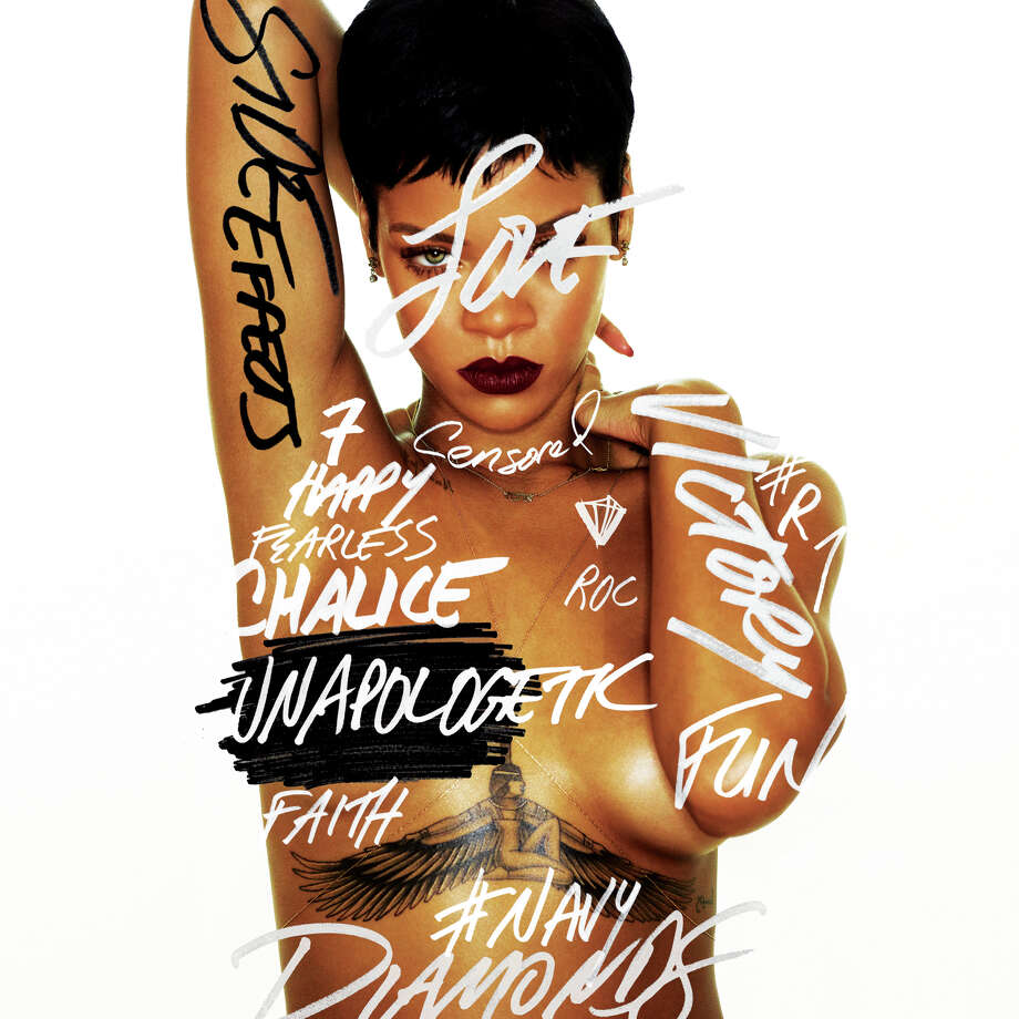 "Cover art for ""Unapologetic,"" the seventh album from Rihanna. Photo: CD Cover"