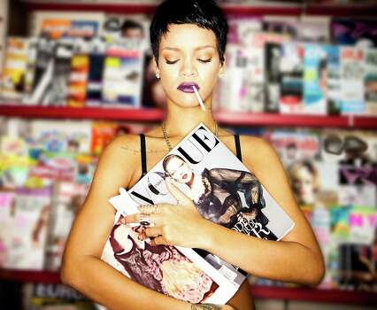 """""""Unapologetic"""" is Rihanna's seventh album in as many years. Def Jam photo. Photo: Def Jam"""
