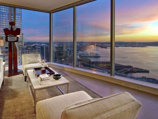 1521 Second Ave.: This is the latest luxury high-rise by noted Seattle architect Blaine Weber, who lives in the building. It offers expansive water and city views, with easy access to Pike Place Market and other downtown attractions. Photo: Courtesy Realogics Sotheby's International Realty