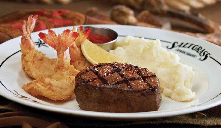 Saltgrass Steak Steakhouse:502 River Walk St. (210) 222-9092 Lunch & Dinner Menu