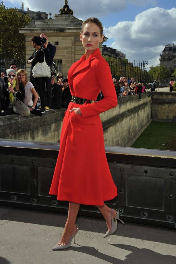 No. 3 Leelee Sobieski Third on Vogue's list of Best Dressed Women of 2012 is LeeLee Sobieski, shown here arriving at the Christian Dior Spring / Summer 2013 show as part of Paris Fashion Week on September 28, 2012 in Paris, France. Photo: Pascal Le Segretain, Getty Images / 2012 Getty Images