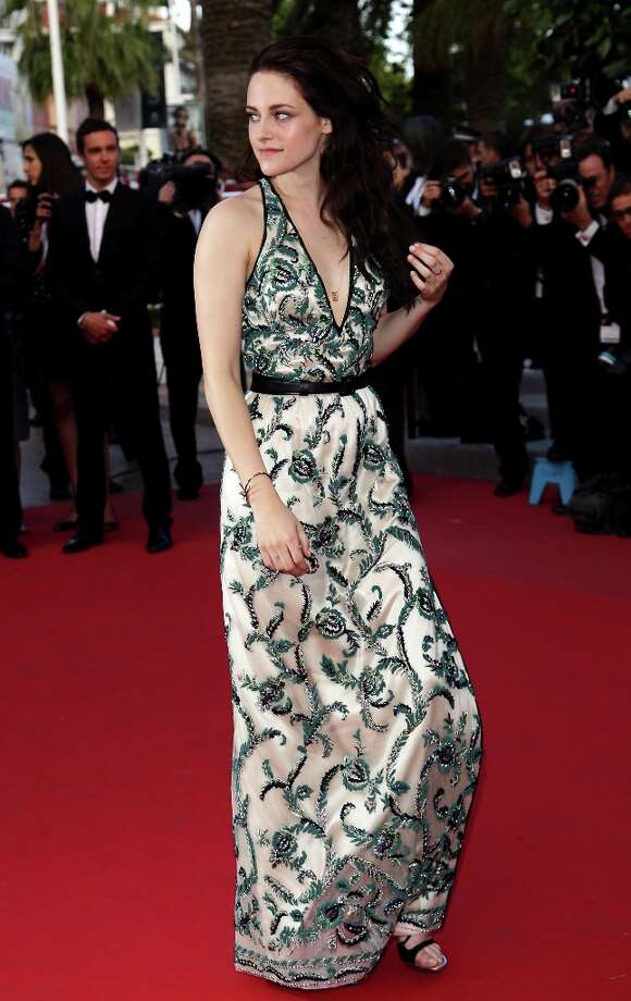 "No. 7: Kristen StewartTwilight star Kristen Stewart attends the ""On The Road"" Premiere during the 65th Annual Cannes Film Festival on May 23, 2012 in Cannes, France.  (Photo by Vittorio Zunino Celotto/Getty Images) Photo: Vittorio Zunino Celotto, Getty Images / 2012 Getty Images"
