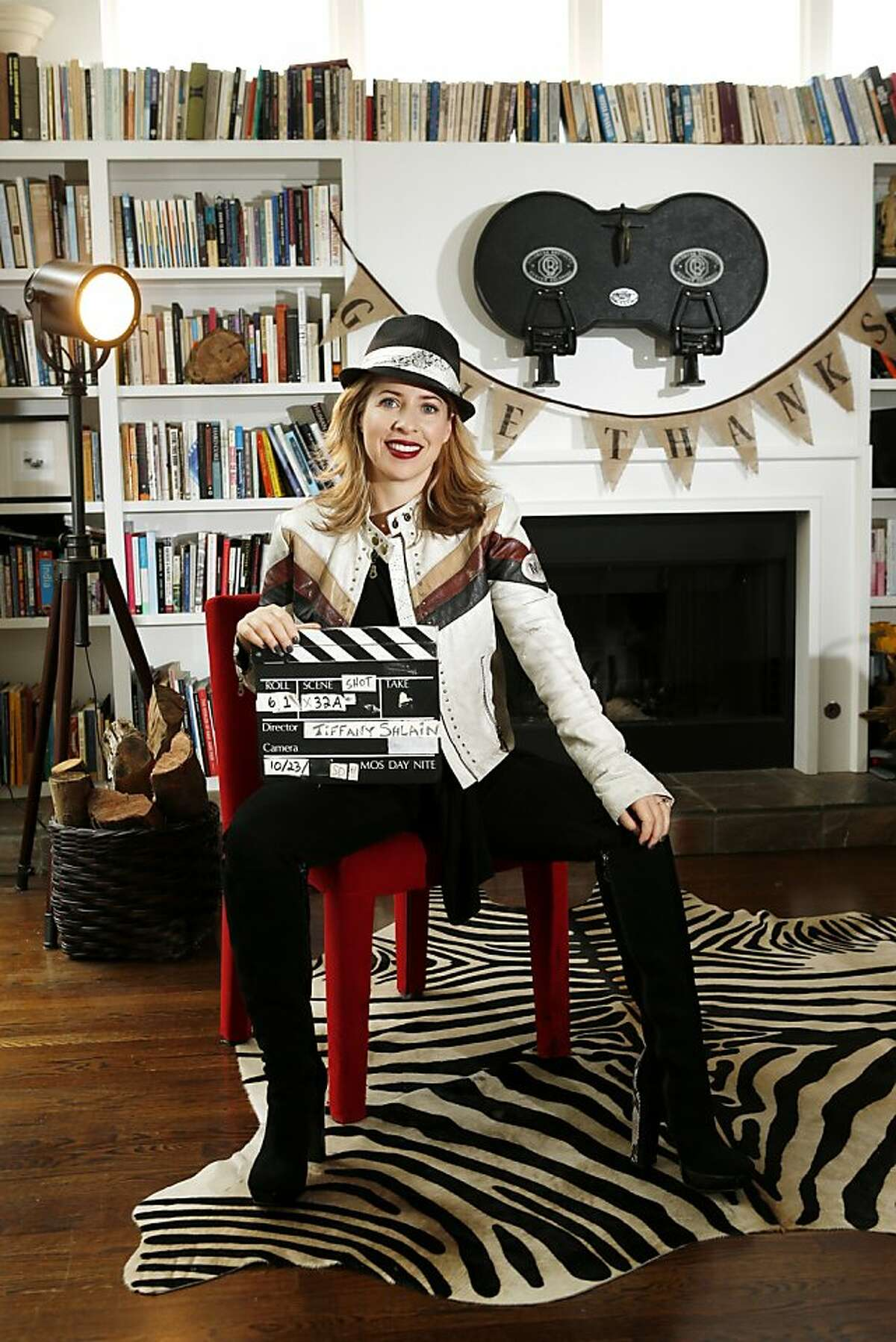 Webby Awards and Moxie Institute creator Tiffany Shlain of Mill Valley is trying out cloud filmmaking.