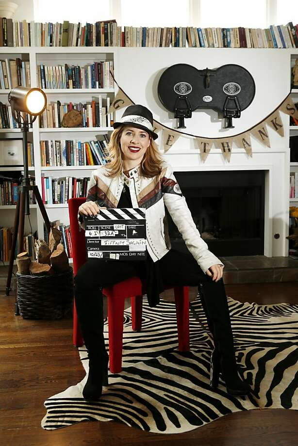 Webby Awards and Moxie Institute creator Tiffany Shlain of Mill Valley is trying out cloud filmmaking. Photo: Beck Diefenbach, Special To The Chronicle