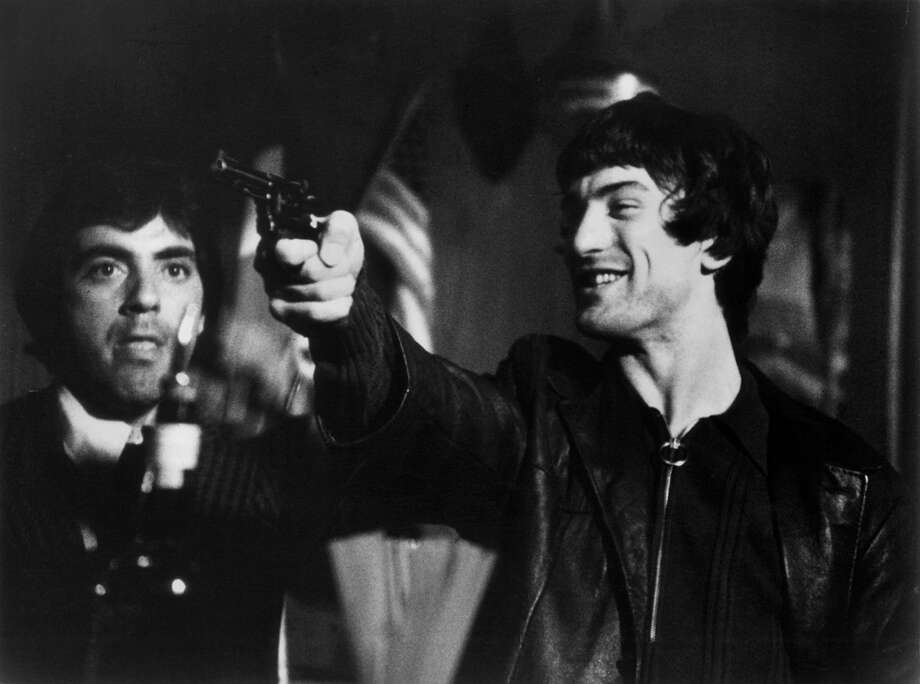 """Mean Streets"" was Scorsese's 1973 breakthrough movie that helped launch the careers of Robert De Niro (right) and Harvey Keitel (not pictured).  Photo: Michael Ochs Archives/Getty Imag, Getty Images / Moviepix"
