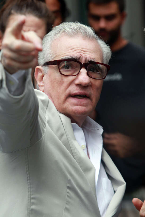"Martin Scorsese on the set of ""The Wolf of Wall Street"" in New York on Aug. 25, 2012.  Photo: Aby Baker, Getty Images / 2012 Aby Baker"