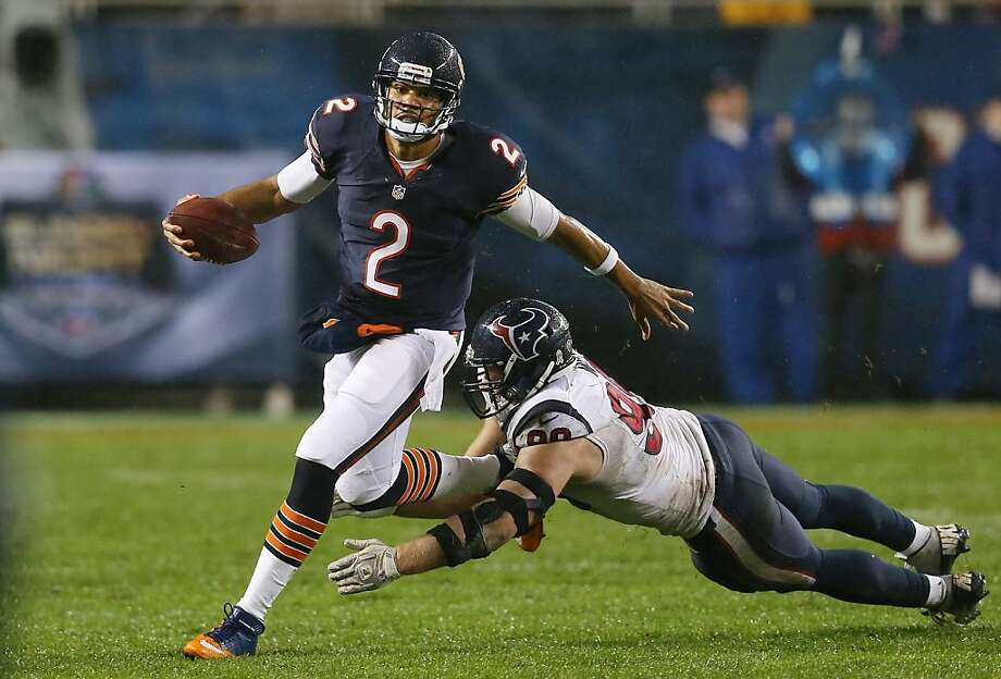 Jason Campbell can expect heat from the 49ers like he got from the Texans and J.J. Watt last Sunday, Carlos Rogers says. Photo: Jonathan Daniel, Getty Images