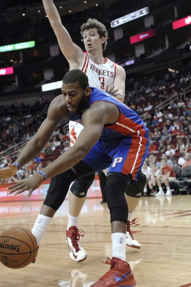 Nov. 10: Rockets 96, Pistons 82The Rockets responded well to the absence of their coach, notching their third victory of the year. Record: 3-3.