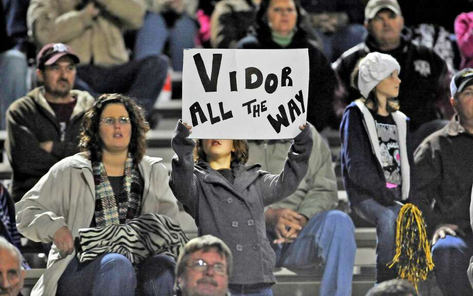 Vidor ISDVidor High SchoolGraduation: 1 p.m. May 31, at the Civic Center(File photo) Fans show support during a Vidor High School Pirates football game. Dave Ryan/The Enterprise