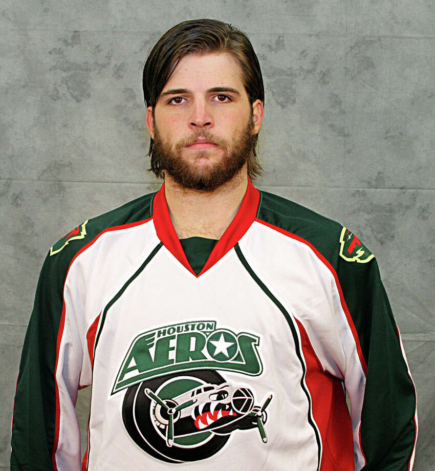 Nick Palmieri Houston Aeros  2012 team photo Photo: NA