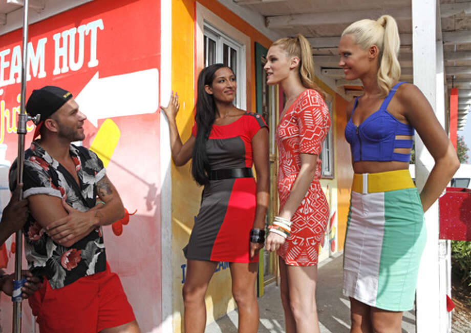 "America's Next Top Model -- ""The Girl Who Becomes America's Next Top Model""pictured left to right: Johnny Wujek, Kiara, Leila and LauraCycle 19Photo: Angelo Sgambeti/The CW©2012 The CW Network, LLC. All Rights Reserved Photo: Angelo Sgambeti, The CW / ©2012 The CW Network, LLC. All Rights Reserved"