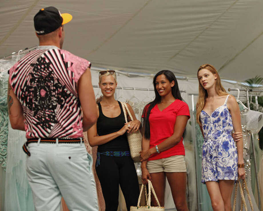 "America's Next Top Model -- ""The Girl Who Becomes America's Next Top Model""pictured left to right: Johnny Wujek, Laura, Kiara and LeilaCycle 19Photo: Angelo Sgambeti/The CW©2012 The CW Network, LLC. All Rights Reserved Photo: Angelo Sgambeti, The CW / ©2012 The CW Network, LLC. All Rights Reserved"