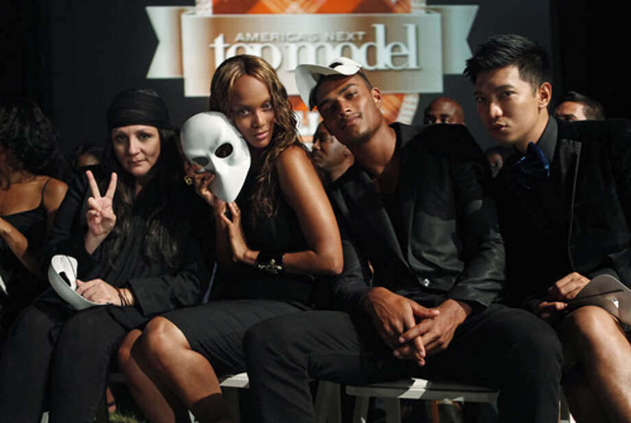"America's Next Top Model -- ""The Girl Who Becomes America's Next Top Model""pictured left to right: Kelly Cutrone, Tyra Banks, Rob Evans and BryanboyCycle 19Photo: Angelo Sgambeti/The CW©2012 The CW Network, LLC. All Rights Reserved Photo: Angelo Sgambeti, The CW / ©2012 The CW Network, LLC. All Rights Reserved"