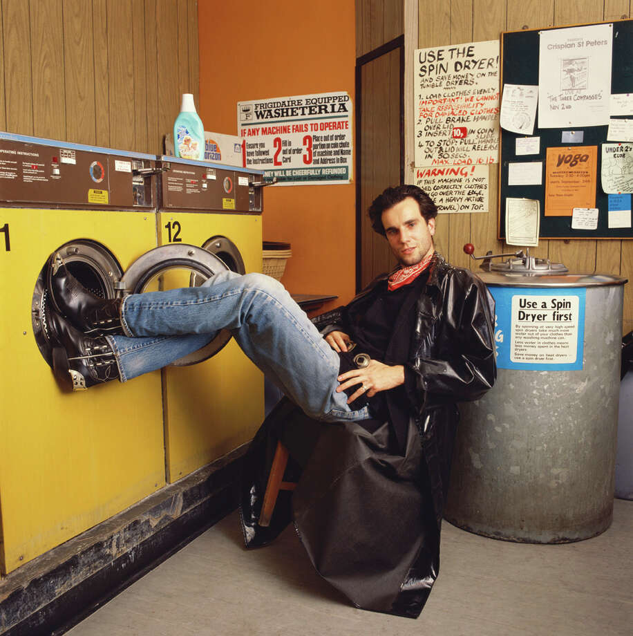 "Here's Daniel Day-Lewis in 1985, in one of his earliest movies, ""My Beautiful Laundrette."" (Not a Scorsese movie). Photo: Krause, Johansen, Getty Images"