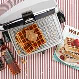 "Take a step back from the toaster. Now check your reflection in  the chrome wonder that is the Sunbeam CG Waffle Iron ($195 to $295, www.toastercentral.com). Introduced in the mid-1950s and fully restored to cook on cue without a non-stick surface by the folks who supply period electrics to the Silver Screen and the Big White way, it makes a 9-inch square confection in minutes no matter which recipe you use from ""Waffles,"" Dawn Yanagihara's guide to gridded goodness. (Chronicle Books, $16.95, www.chroniclebooks.com). Be sure to bin that bottle of high fructose corn syrup, caramel color and artificial flavors for some  sustainable, single-sourced, unblended and additive-free syrup from Tonewood Maple in Vermont's Mad River Valley. ($59.99 for a flight of four grades, 8.4 oz each, and maple sugar wafers, $16.99, www.tonewoodmaple.com). Maple sugar trees are available for adoption ($120) a process that comes entitles the parent? owner? botanical companion? to a photo, treats and recipes including one that involves Brussels sprouts. Read more »"