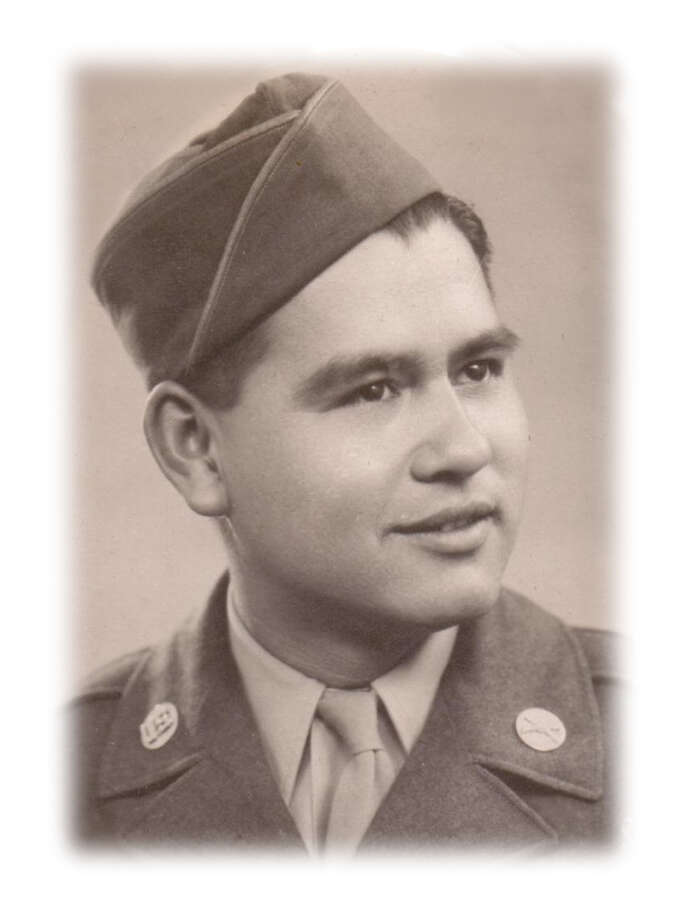 Domingo Cantu was a paratrooper who fought in Normandy and the Battle of the Bulge. / COURTESY PHOTO VIA THE FUNERAL HOME