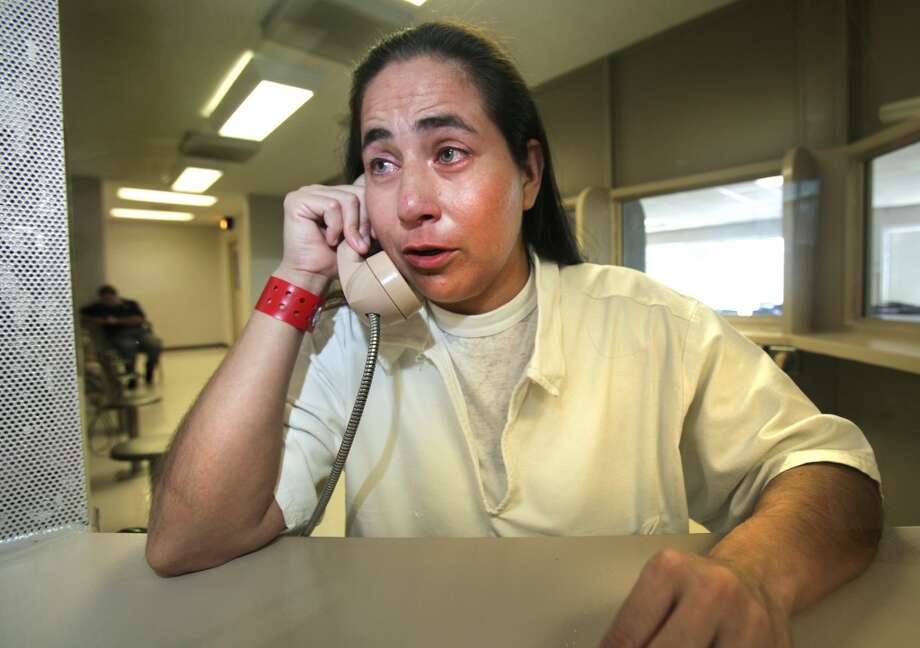 Anna Vasquez, 37, was accused in 1994 of aggravated sexual assault of a child. She is incarcerated at the Murray Unit, in Gatesville, TX.  Tuesday September 4, 2012. (San Antonio Express-News)