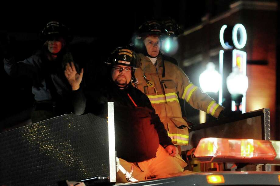 Beukendaal firefighters take part in the annual Gazette Holiday Parade on Saturday, Nov. 17, 2012, in Schenectady, N.Y. (Cindy Schultz / Times Union) Photo: Cindy Schultz / 00019795A