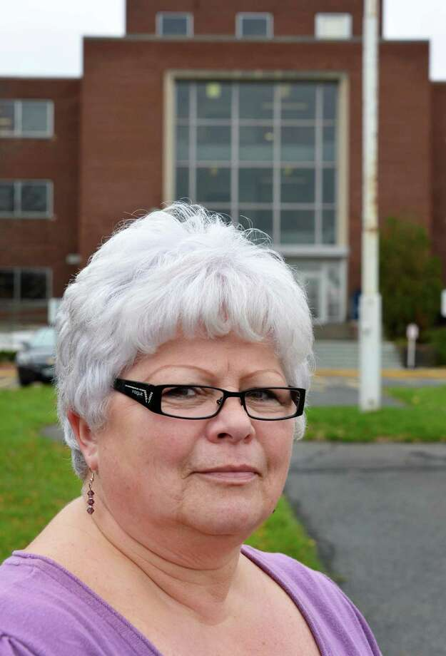 Catherine P. Burns, registered nurse and a NYS Office of Medicaid Inspector General employee outside the OMIG offices in Albany Tuesday Oct. 23, 2012.  (John Carl D'Annibale / Times Union) Photo: John Carl D'Annibale / 10019784A