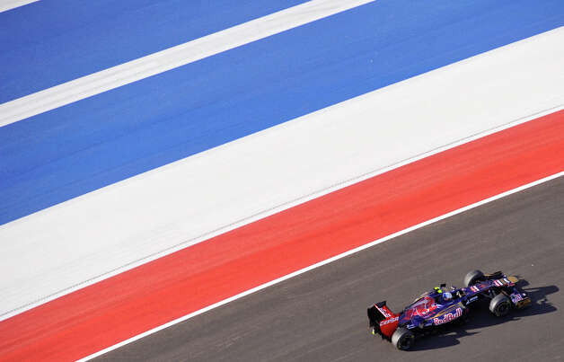 Saturday at the Circuit of the America's in Austin. Photo:  Robin Jerstad/For The Express-News